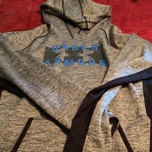 Women's XL under armour hoodie